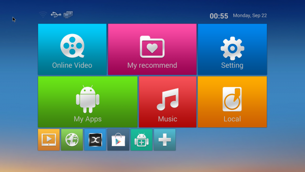 android media box in huis